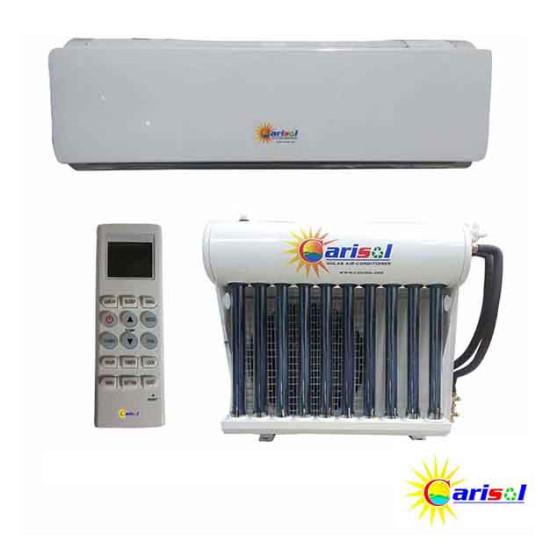 Hybrid Solar Air Conditioner Wall Mount Split Unit With Installation - Carisol - 20,000BTU
