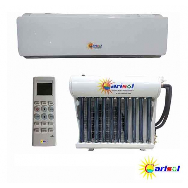 20,000BTU - Hybrid Solar Air Conditioner Wall Mount Split Unit With Installation