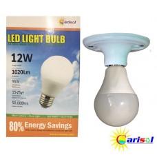 12W/1020Lm L.E.D LIGHT BULB-SR-BL-12W-SO1-01-3000K CT WARM WHITE