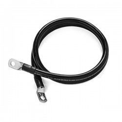 1/0 Battery Jumper Cable TechSpan - Negative - 10ft. - 1/0