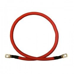 1/0 Battery Jumper Cable TechSpan - Positive - 3ft. - 1/0