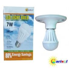7W/595Lm L.E.D LIGHT BULB-SR-BL-7W-SO1-01-3000K CT WARM WHITE