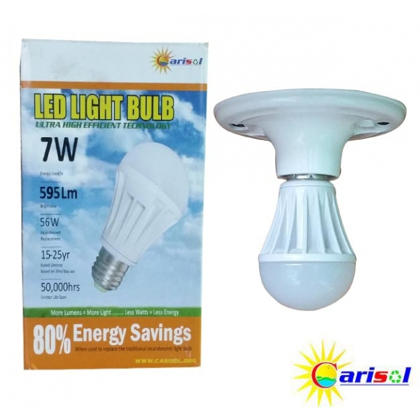 7W/595Lm L.E.D Light Bulb-SR-BL-7W-SO1-01-3000K CT Warm White