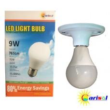 9W/765Lm L.E.D LIGHT BULB-SR-BL-9W-SO1-01-3000K CT WARM WHITE