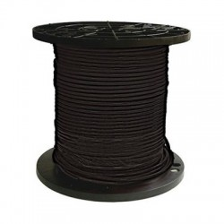10 AWG Black Cable - Carisol - 10-BW-10-100