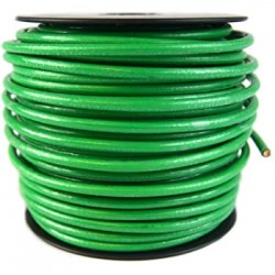 10 AWG Green Cable - Carisol - 10-GW-10-100