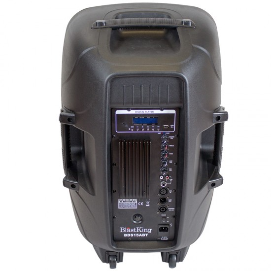 15 Inches 1000W Loudspeaker w/Media Player BLASTKING BDS15ABT