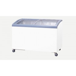 10.5 Kg Curved Glass Commercial Freezer Blackpoint BP10.5FZ-GD-CUR