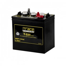 225 Amp Hour 6V - Lead Acid Battery Trace - TR225AH-6V