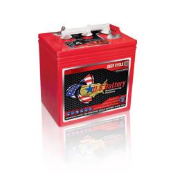 225 Amp Hour 6V - Lead Acid Battery US Power - US-225AH-6V