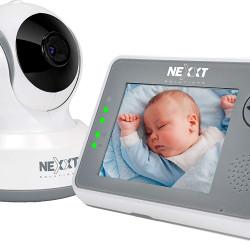 0.7 lbs  RooMate Baby Monitor- Wireless Camera- Pan/Tilt/Zoom- 2 Way communication-Voice Activation-Temp Sensor Nexxt Solutions AIWPTFI4U1
