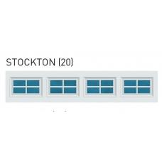 Stockton - Colonial Decra Trim Garage Door Window (per insert)