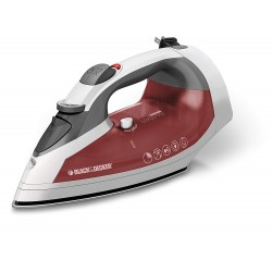 Xpress Steam Cord Reel Iron White/Red Black and Decker ICR07X