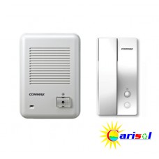 1-1 Commax Door Phone and Door Bell Kit - DP-2S/DR-201D