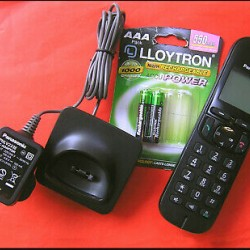 1.9GHz Cordless Telephone System Panasonic-KX-TGC222CG