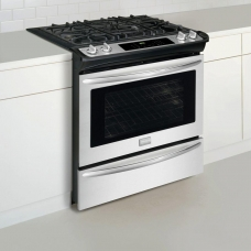 30 inch Frigidaire Gallery Slide-In Gas Range-Stainless Steel