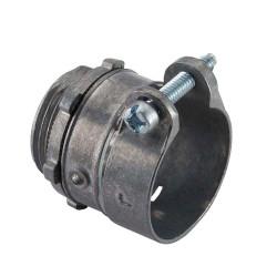 3/8 Flexible Metal Conduit Screw Connector Halex 04403B
