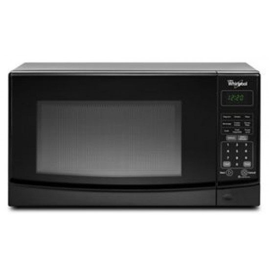 0.7 cu. ft. Countertop Microwave with Electronic Touch Controls Whirlpool WMC10007AB
