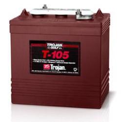 225 Amp Hour 6V - Lead Acid Battery Trojan - T105-225AH-6V