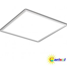 2ft. x 2ft. - 35W LED Panel Light Recessed/Flush Mount White Edge Lit