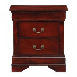 5 pc Cherry Bedroom Set - Queen Bed LOUIS-5/0-5PC-KIT