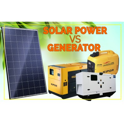 Solar Power Versus Generator