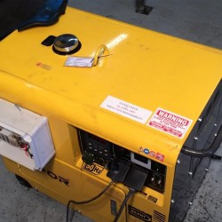 4.5kva Diesel Generator Kipor KDE6700TA