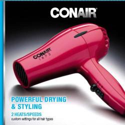 1875 Watt Hair Dryer Conair-CON-247NP