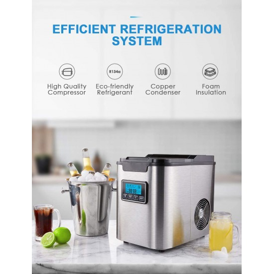 26lb Portable Ice Maker Imperial-IMP-ICE-15