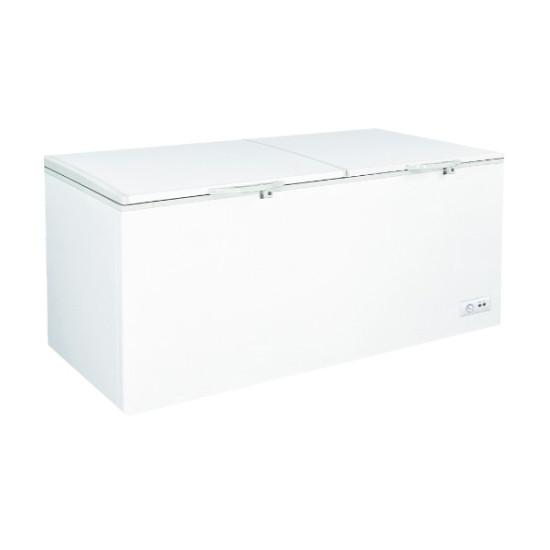 23 Cu. Ft. Commercial Double Door Chest Freezer Blackpoint-BP23FZ-SNOW-LEOPARD