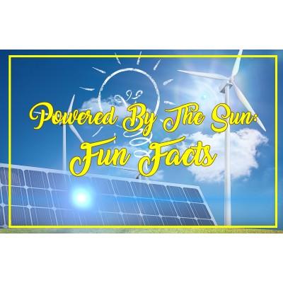 Solar Power Fun Facts