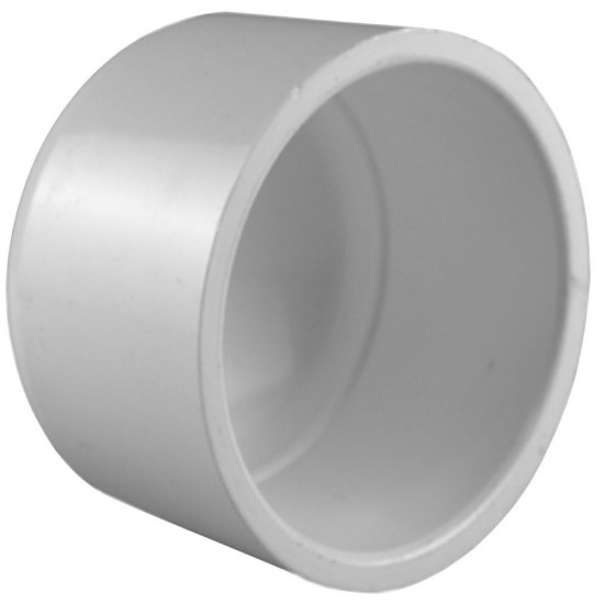 4 inch PVC DWV Cap Mueller 459596