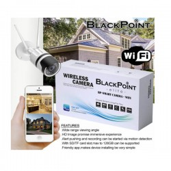 Single Camera System With Wifi and Back Up Blackpoint-BP-SMART-CAMERA-WIFI
