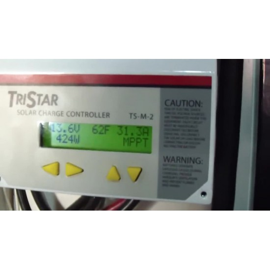 60 Amp - Tristar MPPT Charge Controller Morning Star - TS-MPPT-60