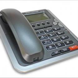 DESK /CID PHONE with Caller ID-DTP1200