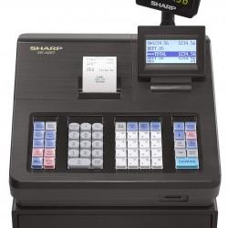 Menu Based Control System Cash Register Sharp XEA207